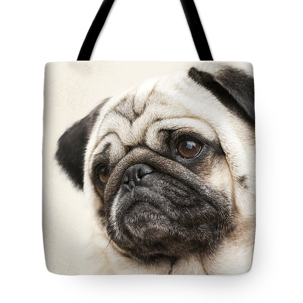 L-o-l-a Lola The Pug Tote Bag