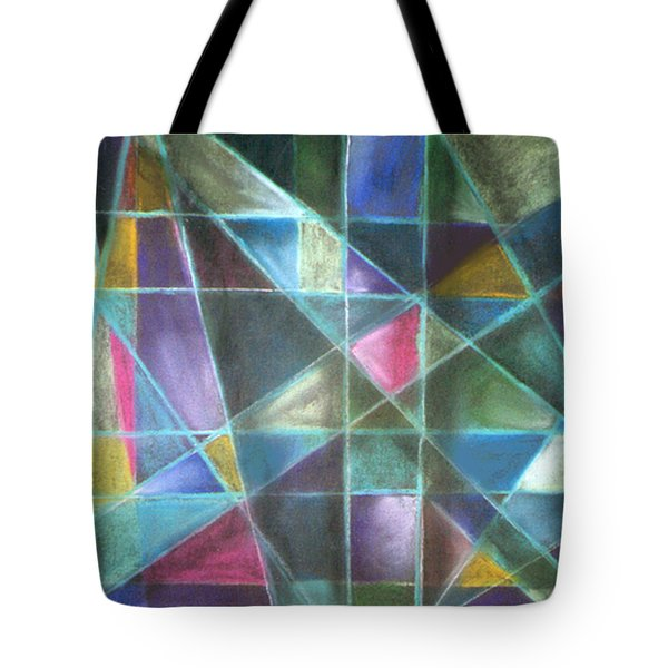 Light Patterns 2 Tote Bag