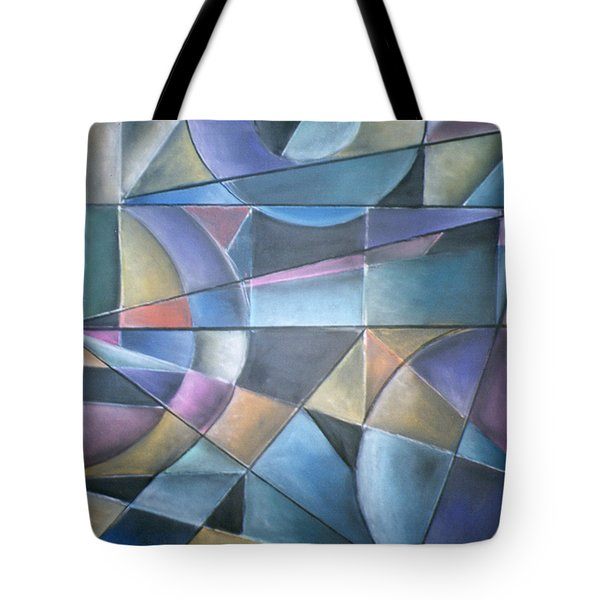 Light Patterns Tote Bag