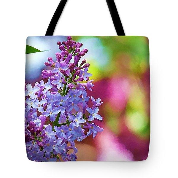 Lilacs 2012 Tote Bag