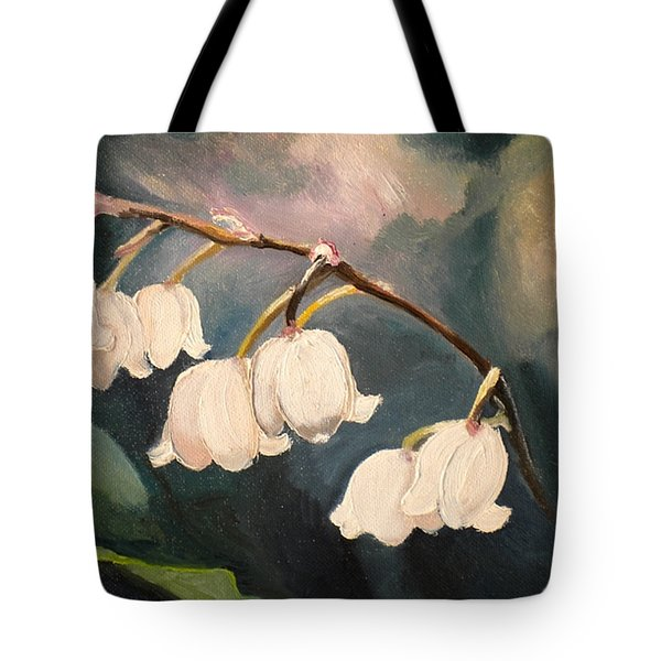 Lily Whites Tote Bag by Renate Nadi Wesley