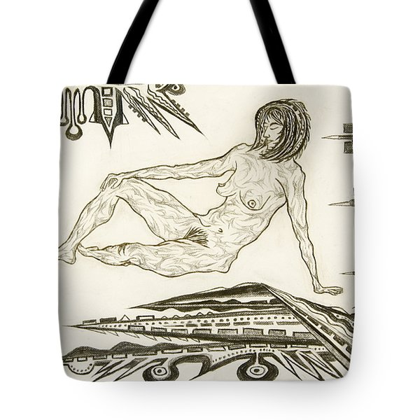 Live Nude 4 Female Tote Bag
