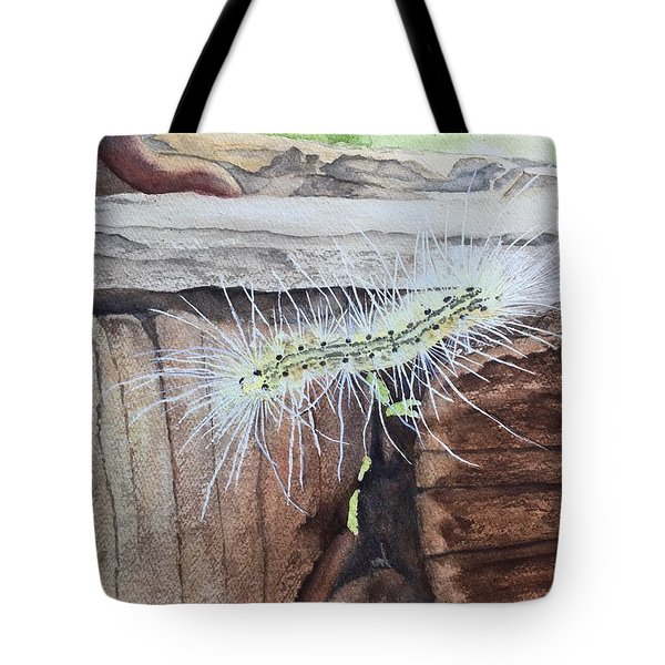 Living In The Moment - Dna Drama Tote Bag