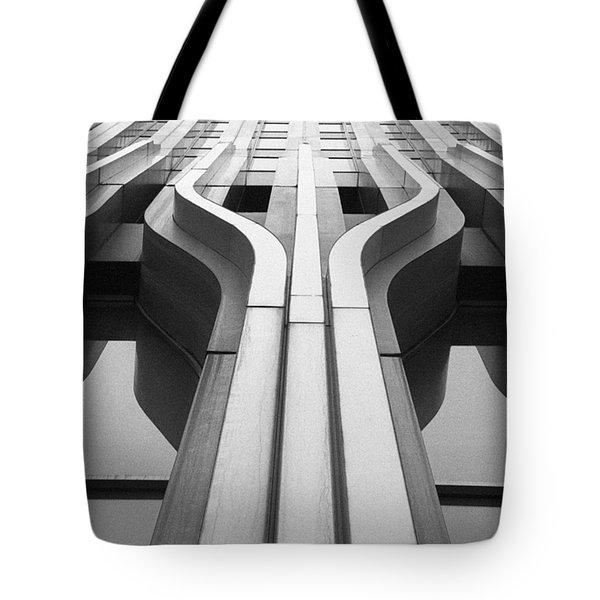 Look Up A Twin Tower Tote Bag by Darcy Michaelchuk