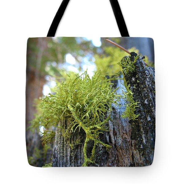 Macro Life Tote Bag
