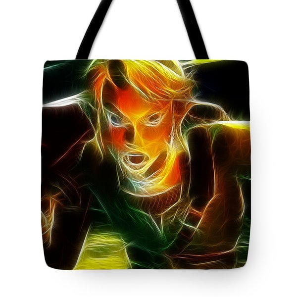 Magical Zelda Link Tote Bag by Paul Van Scott