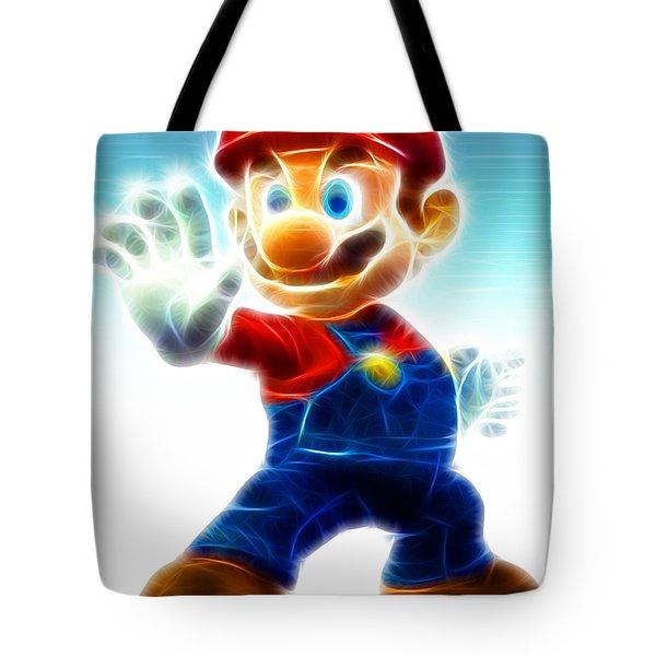 Mario Tote Bag by Paul Van Scott