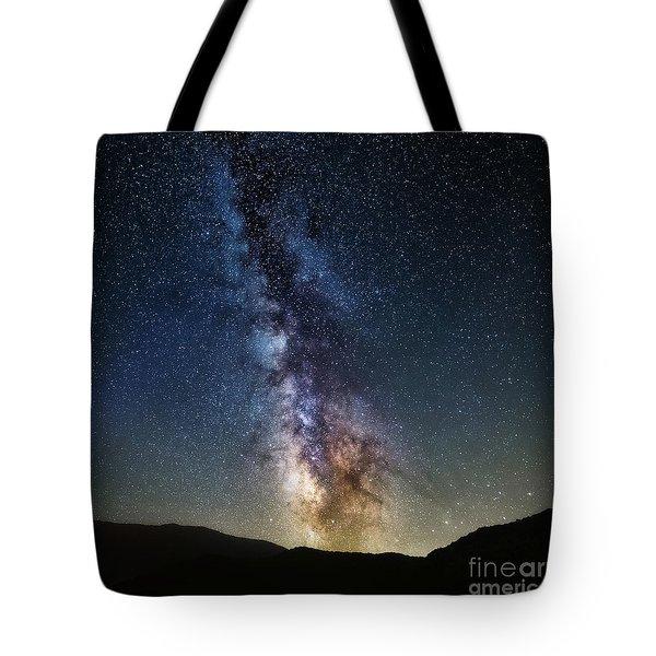 Milkyway Sqaured Tote Bag