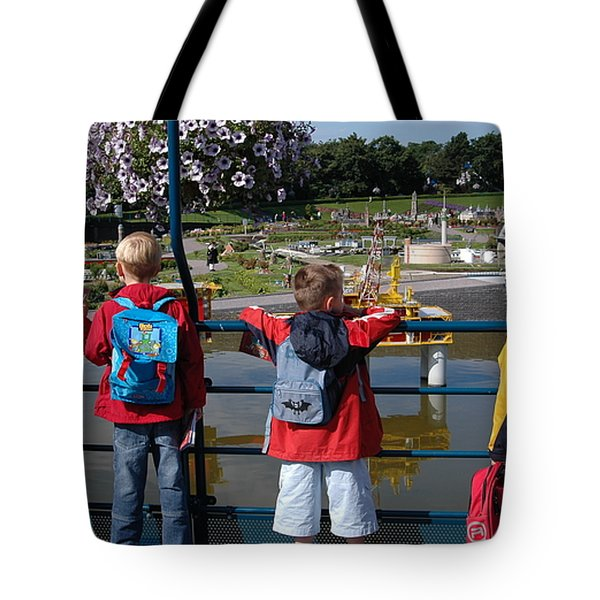 Tote Bag featuring the photograph Miniature Playground by Vilas Malankar