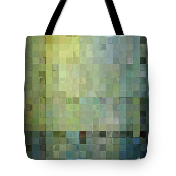 Modern Tile Art One Modern Decor Collection Tote Bag