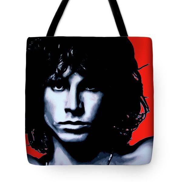 Morrison Tote Bag by Luis Ludzska