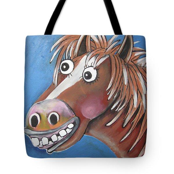 Mr Horse Tote Bag