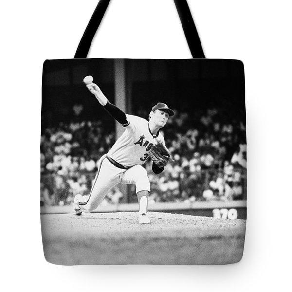 Nolan Ryan (1947- ) Tote Bag by Granger