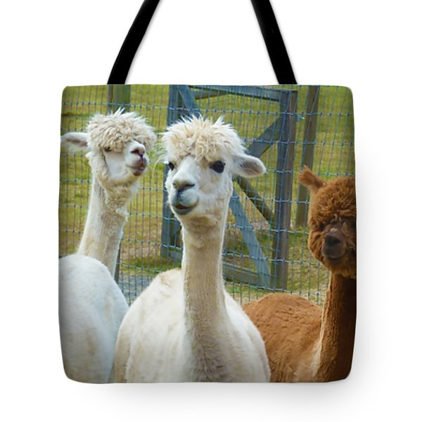 Not From Around Here Tote Bag