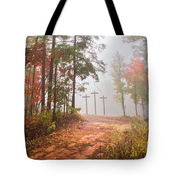 One Way Tote Bag by Debra and Dave Vanderlaan