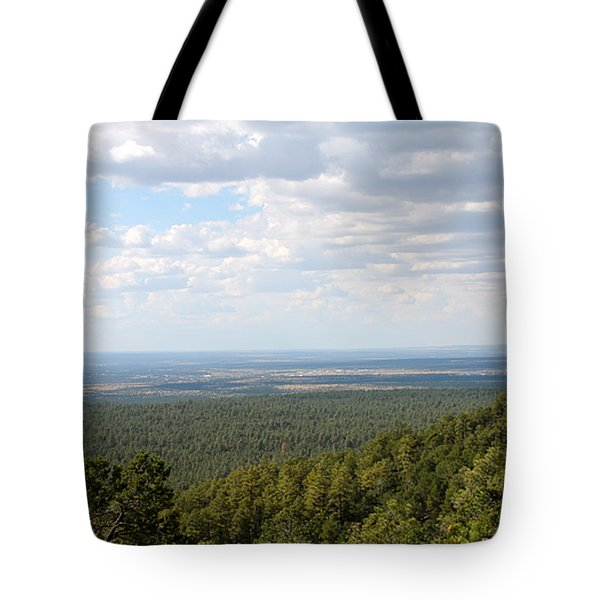 Overlooking Pinetop Tote Bag