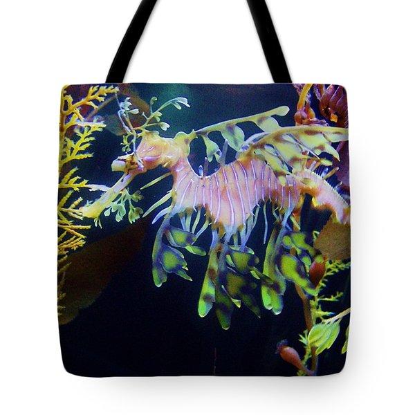 Sea Horse Parade 2 Tote Bag