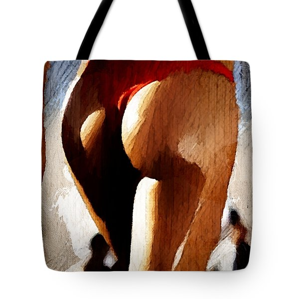 Sexy B-side Tote Bag