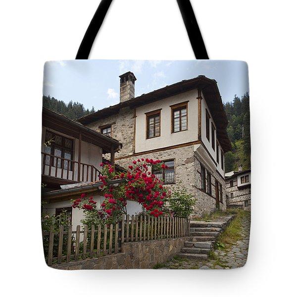 Shiroka Laka Village Tote Bag