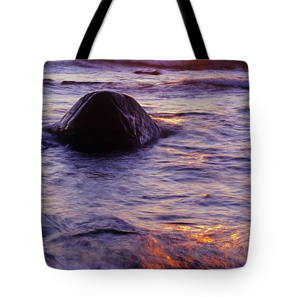 Sunset Lights Tote Bag by Konstantin Dikovsky