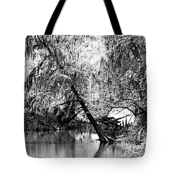 The River Filtered Tote Bag