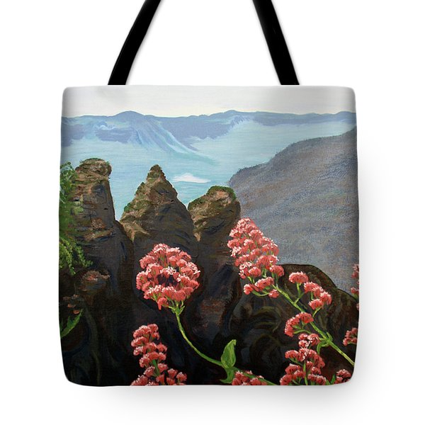The Three Sisters Tote Bag by Tatjana Popovska