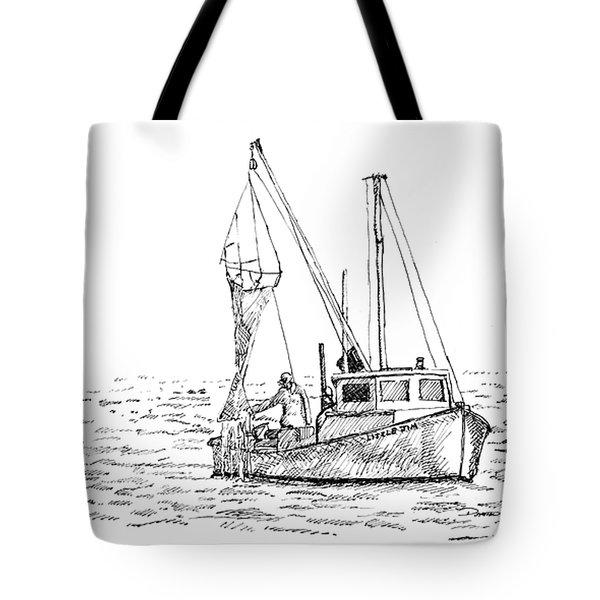 The Vessel Little Jim Tote Bag