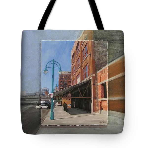 Third Ward - Market Street Tote Bag by Anita Burgermeister