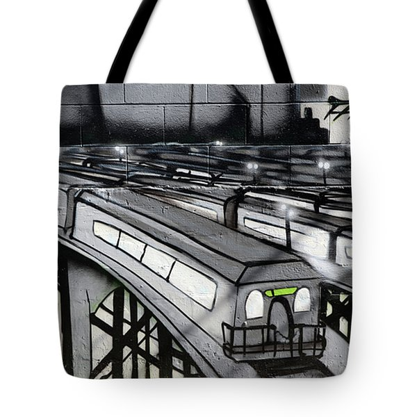 Transporters Tote Bag by Bob Christopher