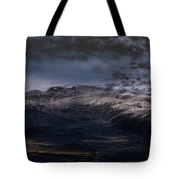 Troubled Waters Tote Bag