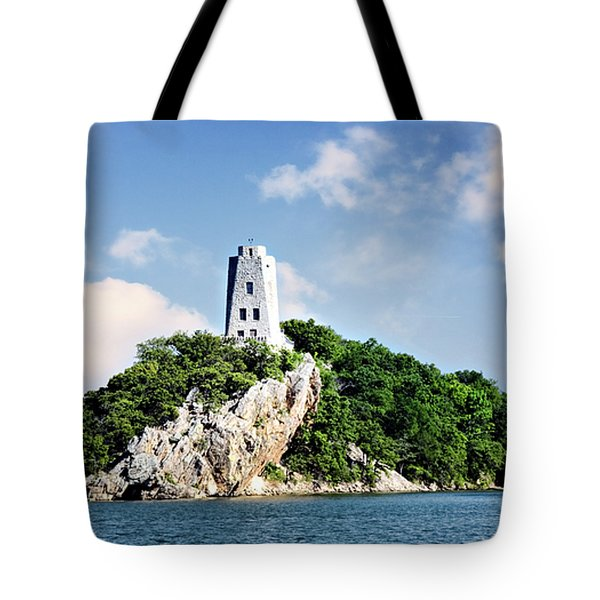 Tucker Tower 2 Tote Bag