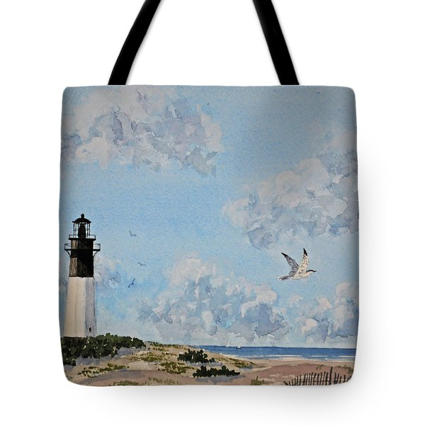 Tybee Light Savannah Tote Bag