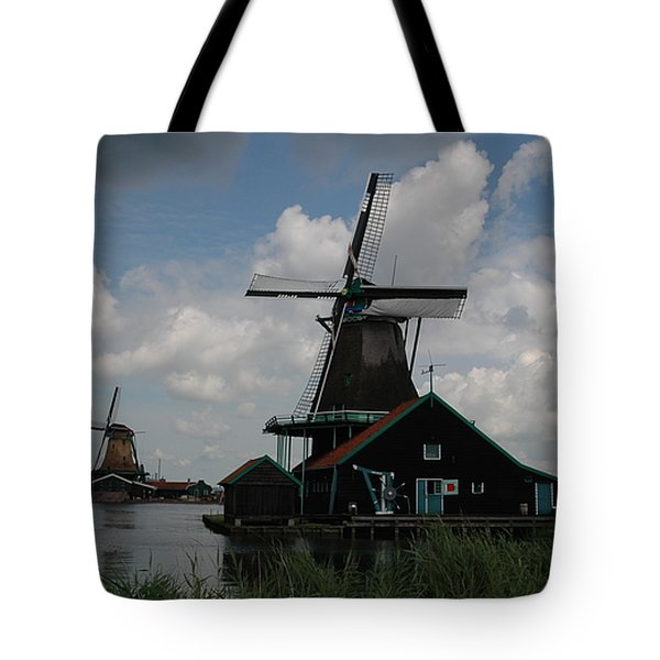 Tote Bag featuring the photograph Windmill 3 by Vilas Malankar