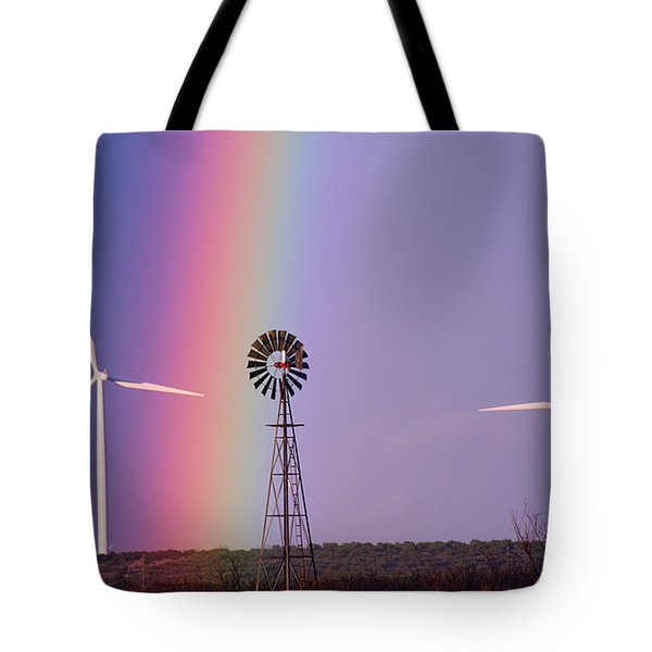 Windmill Promises Old And New Tote Bag