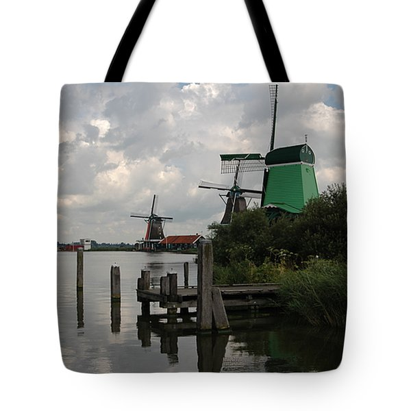 Tote Bag featuring the photograph Windmills 2 by Vilas Malankar