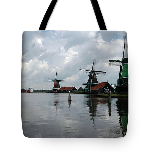 Tote Bag featuring the photograph Windmills by Vilas Malankar