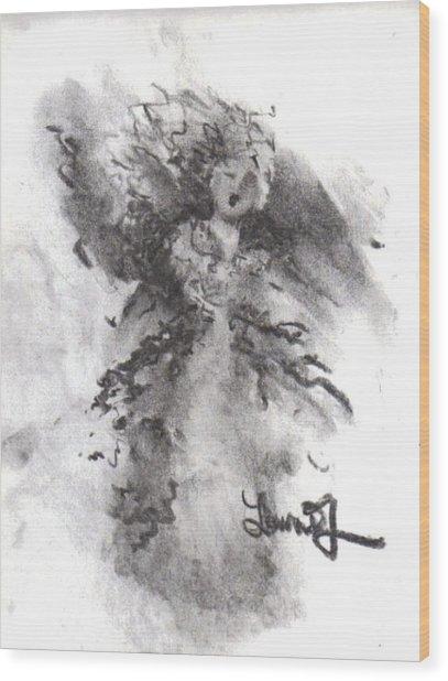 Rapture Of Peace Wood Print