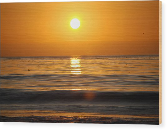 Carmel Sunset Wood Print
