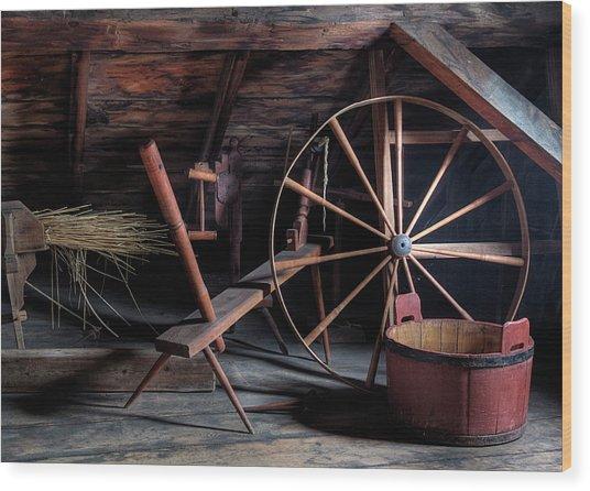 A Bygone Era Wood Print by John-Paul Fillion