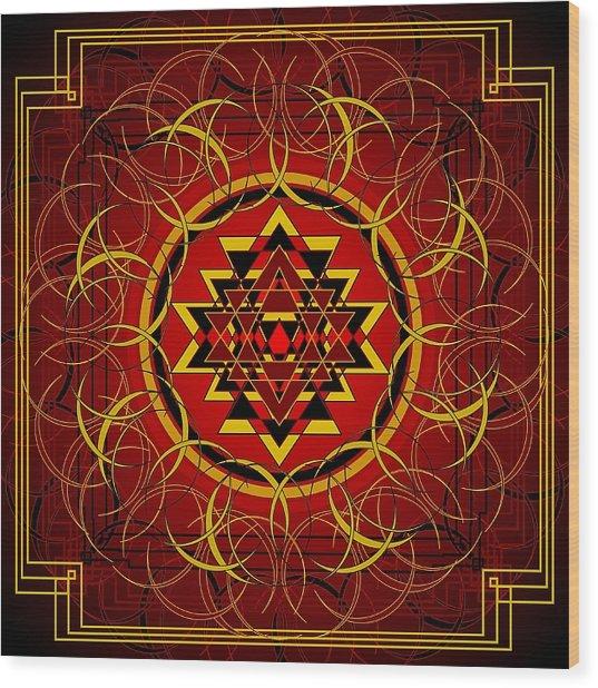 Agni 2012 Wood Print