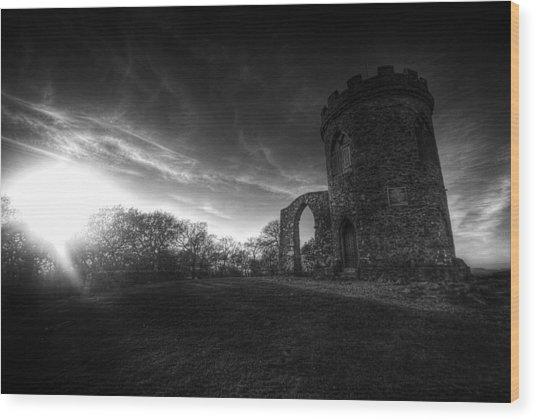Bradgate Park At Dusk Wood Print
