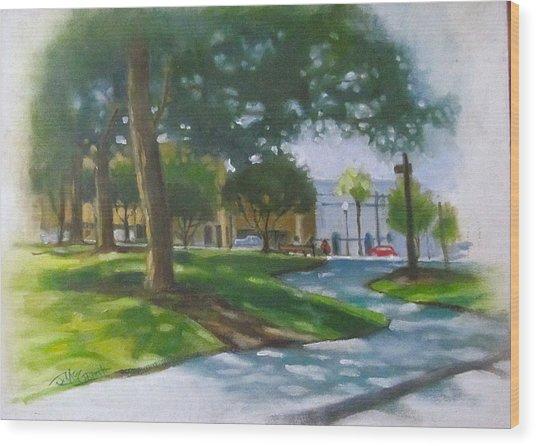 Brick City Ocala Fl Wood Print