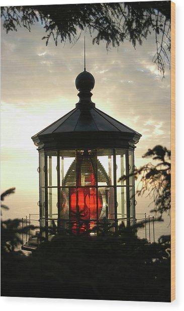 Cape Meares Lighthouse Wood Print