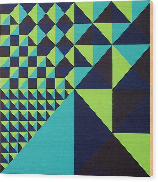 Domino Theory Wood Print