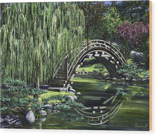 Huntington Tea Wood Print