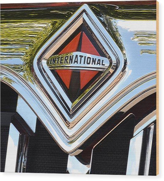 International Truck II Wood Print