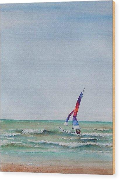 Ipperwash Beach Wood Print