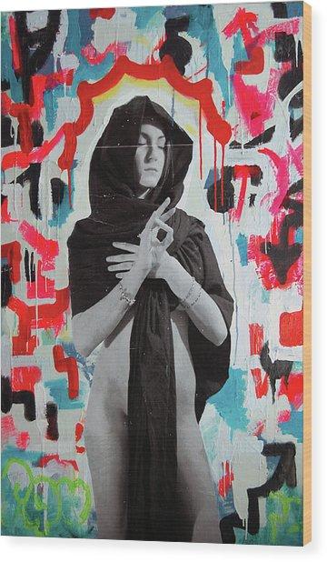 Iris Of My Eye... Wood Print by Steven W Rand