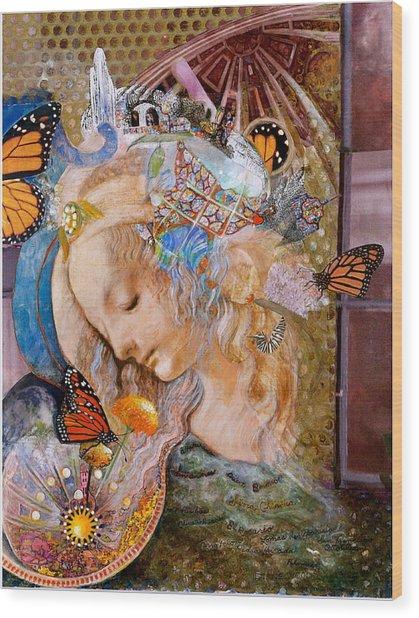 Sanctuary Wood Print by Diane Woods