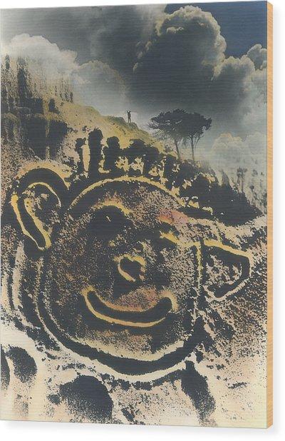 Smile Wood Print by Bob Bennett